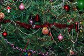 圣诞节树背景 — 图库照片
