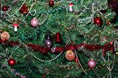 クリスマス ツリーの背景色 — ストック写真