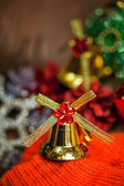 Christmas bells background — Stock Photo