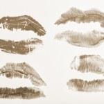 Постер, плакат: Imprint of lipstick