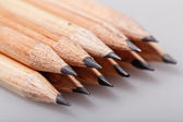 Graphite pencils — Stock Photo