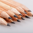 Stock Photo: Graphite pencils