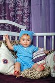 Little boy in nursery — Stock Photo
