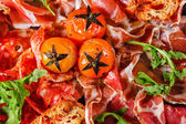 Plato de carne — Foto de Stock