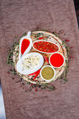 Baharat ve soslar — Stok fotoğraf