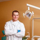 Dentist at work — Stock Photo