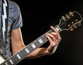 Gitarist — Stok fotoğraf