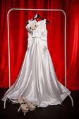 Vestido de noiva — Foto Stock