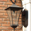 Antique Victorian Outdoor Wall Lamp — Stock Photo