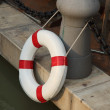 Ring buoy decoration — Stock Photo