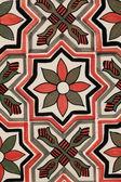 モロッコで非常に一般的な伝統的なモロッコのタイル パターン — ストック写真