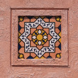 Traditional Moroccan tile pattern, very common in Morocco — Stock Photo #32610453