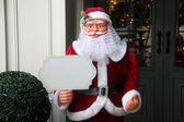 Santa Claus doll face — Stock Photo