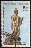 Buddha on lotus — Stock Photo
