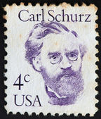 Carl Schurz stamp — Stock Photo