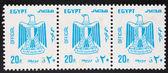 Egypt Stamp  with eagle — ストック写真