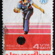 THAILAND - CIRCA 1985: A stamp printed in Thailand shows image of XIII Sea Games Bangkok, circa 1985 — Stock Photo