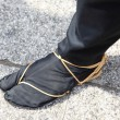 Ninja shoes, shoe Japanese Traditional — Stock Photo