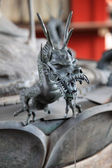 Dragon statuette — Stock Photo