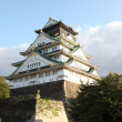 The main tower of Osaka Castle — Stock Photo