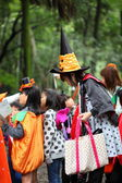 Children in costumes — 图库照片