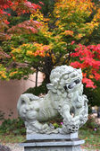 Komainu (lion-dogs) in Takayama, Japan — Stock Photo