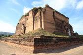 Detail of Ruined Mingun pagoda — Stock Photo