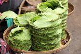 Stack of Betel leaves — Stockfoto