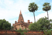 Ancient Buddhist temples — Stock Photo