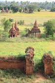 Antigos templos budistas — Fotografia Stock