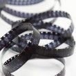Stock Photo: Still life of 8mm cine film