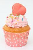 Cupcakes with heart — Foto de Stock