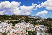 Village typique andalou blanc — Photo