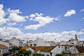 Typical white andalusian village — Stock Photo