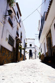 Aldeia típica da andaluzia branco — Fotografia Stock