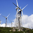 Wind turbines park with cloudy sky — Stock Photo #34980659