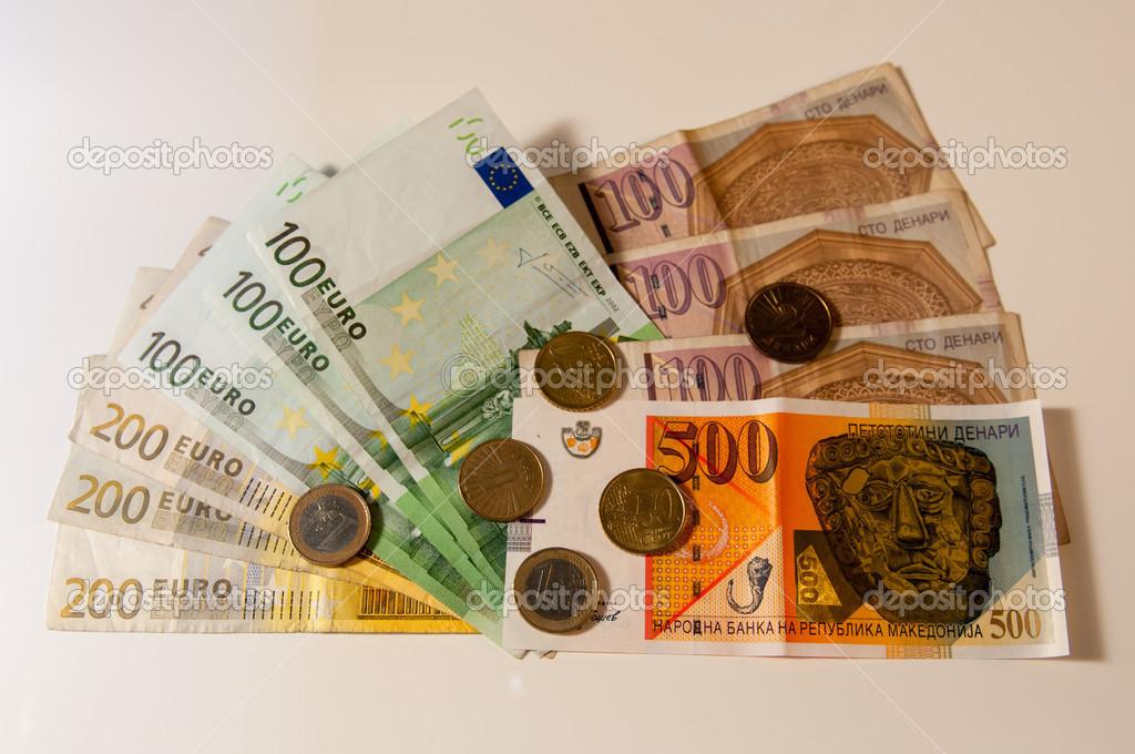 euro denar