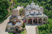 Orthodox church and monastery, St.Joachim Osogovski in Macedonia, Kriva Palanka — Stockfoto