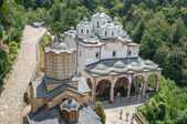 Orthodox church and monastery, St.Joachim Osogovski in Macedonia, Kriva Palanka — Stock Photo
