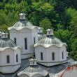Постер, плакат: Orthodox church and monastery St Joachim Osogovski in Macedonia Kriva Palanka