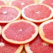 Stock Video: Red grapefruit fruit