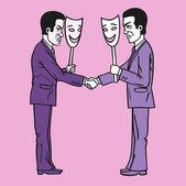 Businessmen. — Stock Vector