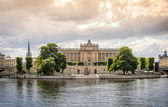 Swedish parliament, Stockholm. — Stock Photo