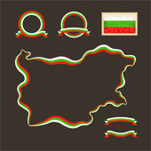 Colors of Bulgaria — Stock Vector