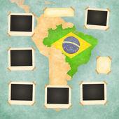 старинные фоторамки (бразилия) — Стоковое фото