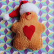 Christmas Gingerbread man toy — Stock Photo #30065083