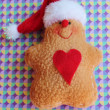 Christmas Gingerbread man toy — Stock Photo #30065449