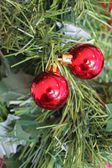 Christmas bauble tree decoration — Stock Photo