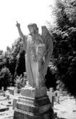 Cmentarz z nagrobków i grobowców — Zdjęcie stockowe