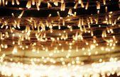 Vánoční osvětlení abstraktní — Stock fotografie